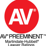 AV Preeminent Rated by Martindale-Hubbell